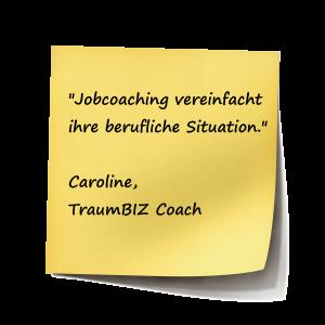 Jobcoaching vereinfacht ihre berufliche Situation