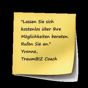 Lassen Sie sich kostenlos über Ihre Coaching Möglichkeiten beraten
