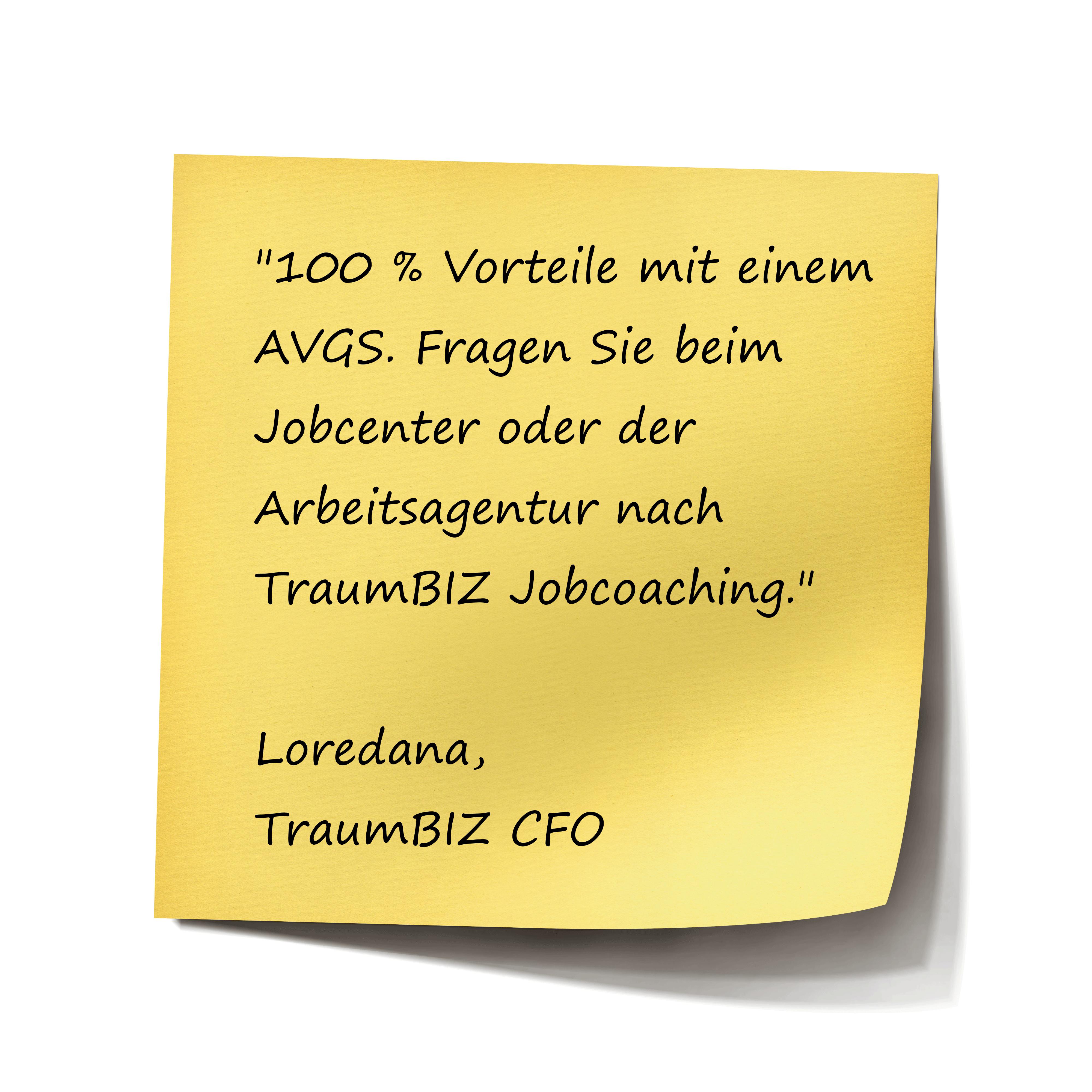 100 % Vorteile mit AVGS